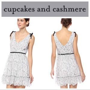 🆕Cupcakes and Cashmere Ezzy Flare Lace Dress